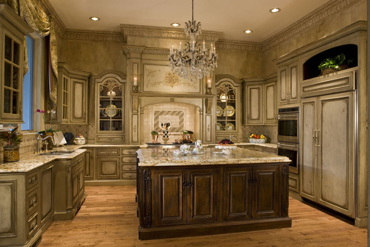Upscale Kitchen Designs